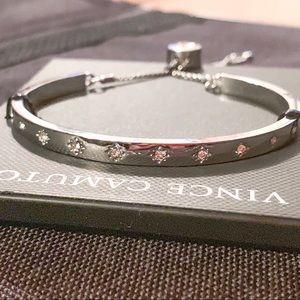 Vince Camuto Jewelry - Vince Camuto Star Silver Tone Slider Bracelet